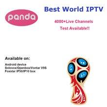 Panda IPTV Android TV APK Box Solovox V9S + Arabic French Italy Germany UK Turkey Latin America Spain Sweden Poland Ethiopia