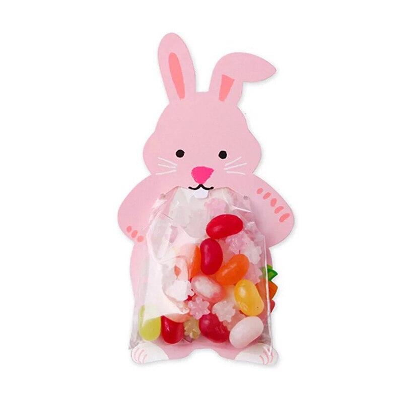 Emerra 10Pcs 5Colors Cute Cartoon Food Creative Card Packaging Baking Decorative Bag Free Shipping