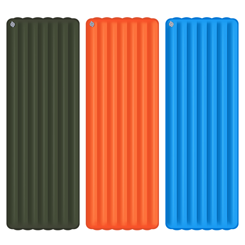 Outdoor Camping Mat 182 60 11cm Nylon TPU Ultra light Thickness Inflatable Air Mattress For Hiking