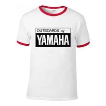7f5622379c6 Nueva moda YAMAHA logo camiseta marca ropa letra impresa Camiseta de manga  corta de alta calidad