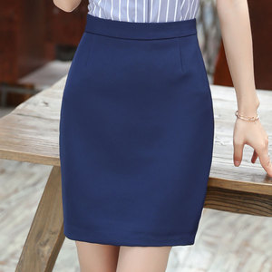 Image 1 - חצאיות נשים קיץ 2019 נשים שחור חצאית בתוספת גודל אישה גבוהה מותן OL חצאית אופנה נשים Workwear Bodycon עיפרון חצאיות 5XL