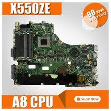 A8-7200 X550ZE Scheda Madre cpu For Asus A555Z VM590Z X555Z scheda madre Del Computer Portatile X550ZE Mainboard X550ZE Scheda Madre teste 100% OK