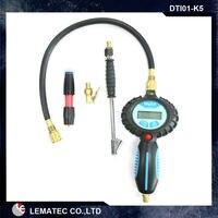 5 Kits Air Tool Kits Air Accessory Kits Pro Digital Tire Inflator Air Inflator Gun Air