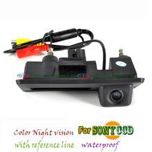 Fil sans fil sony ccd parking Tronc poignée caméra pour Skoda superbe vw Passat B7 Golf Touran Mk 5 6 Jetta Porshce Cayenne