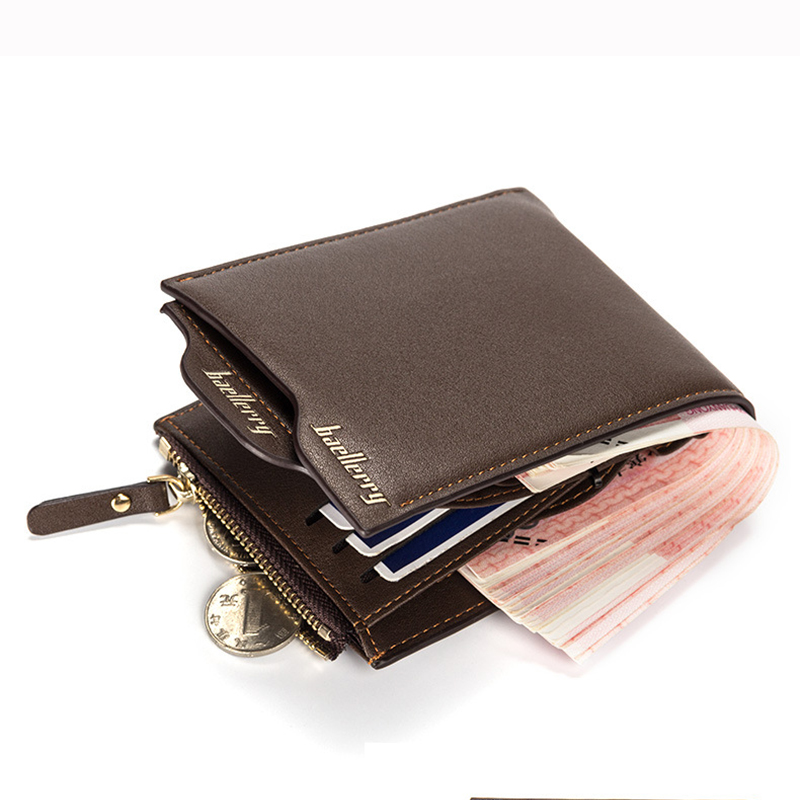 cheap designer wallets mens m6v5  Fashion Men Wallets Famous Brand New PU Leather Wallet Design Wallets With  Coin Pocket Purse Card