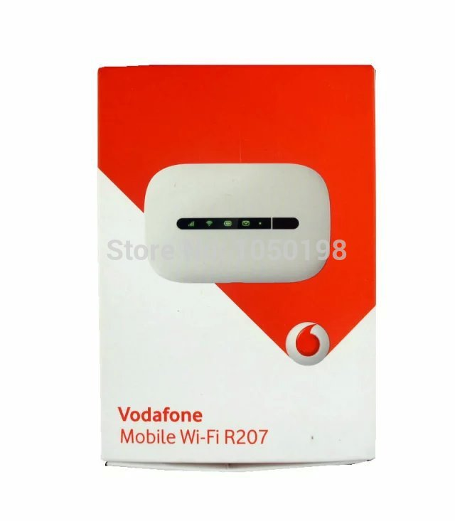 vodafone mobile wi fi r207 wireless router in 3g 4g. Black Bedroom Furniture Sets. Home Design Ideas