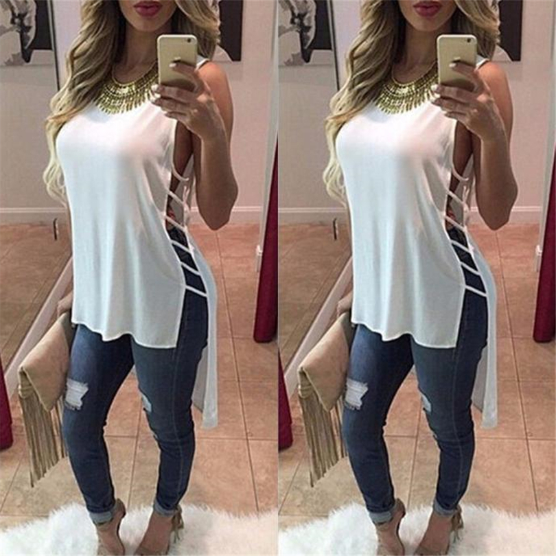 HTB15nVGN9zqK1RjSZFHq6z3CpXaY MIARHB Womens Summer Sleeveless Dress Sexy Casual Chiffon Vest Top Sleeveless Blouse Tank Tops Mini Dress Dresses T-Shirt A20