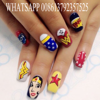 Computer And Screen Build In CE Approved Free Shipping 5 Nails Printer Flowers Printer Nail Art