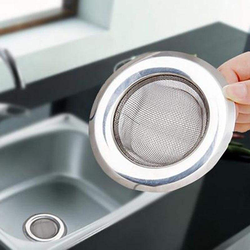 1Pc Stainless Steel Mesh Kitchen Appliances Sewer Convenient Filter ...