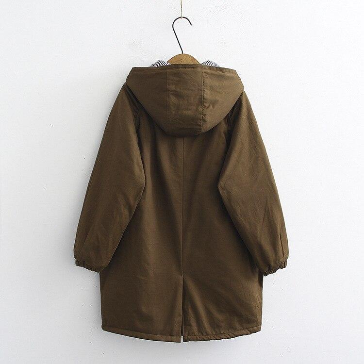 Mujeres verde 6xl Oversize Grande Chaqueta Moda 2018 Capucha Suelto 4xl Para Talla Abrigo Negro Con Mujer Largo Estilo Top B1WqwqUPH