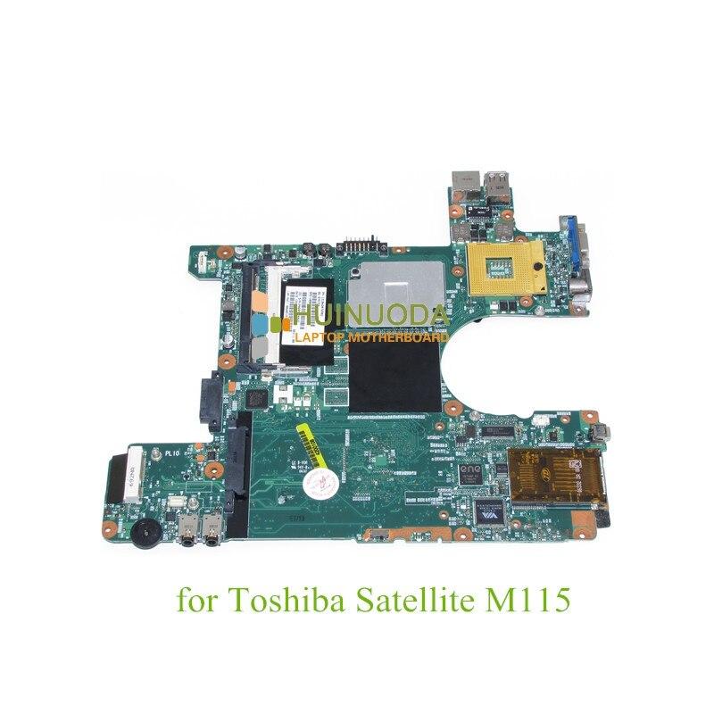 laptop motherboard For toshiba satellite M115 main board 945gm DDR2 Mainboard V000078020 1310A2076902  motherboard for toshiba satellite t130 mainboard a000061400 31bu3mb00b0 bu3 100% tsted good
