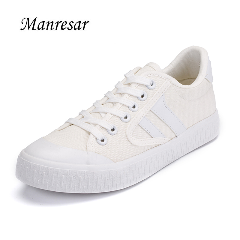 2017 New Manresar Fashion Classic Unisex Casual Shoes Zapatos Mujer Lacing Women Cross-tied Canvas Shoes Plus Size Flats 35-44
