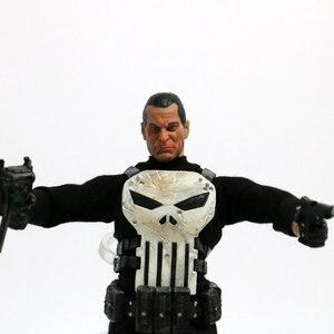 Image 5 - 15 cm Mezco Tek: 12 Punisher PVC Action Figure Heykeli Modeli Oyuncak Bebek Versiyonu