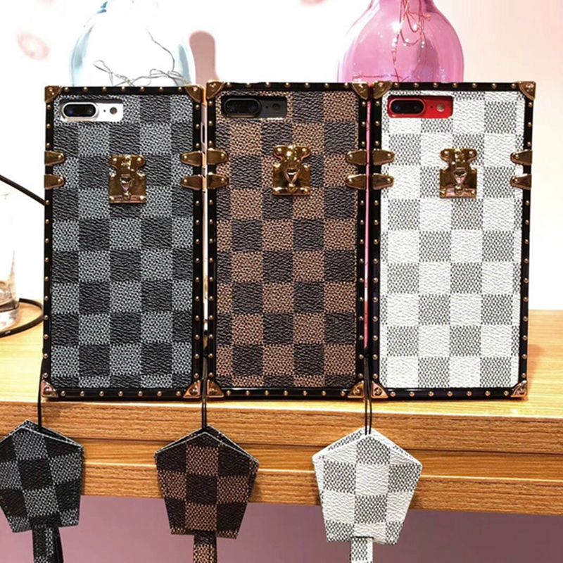 font b 2018 b font Fashion Style Cover Plaid Back Case for font b IPhone
