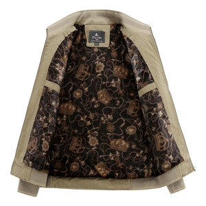 Image 5 - Куртка LOMAIYI Мужская зимняя, жакет из чистого хлопка, с воротником стойкой, флисовая подкладка, повседневная верхняя одежда, BM290