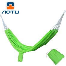 NEW 2019 Outdoor Hiking leisure hammock Double hammock parachute cloth Lightweight breathable camping adults 200*140CM цена в Москве и Питере