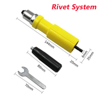 3.2mm Electric Riveter Adapter Drill Attachment