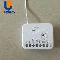 Sistema de hogar inteligente de ipsecurity TZ74 on/off Módulo de interruptor de relé zwave con monitor de potencia 868,42 Mhz frecuencia para la UE