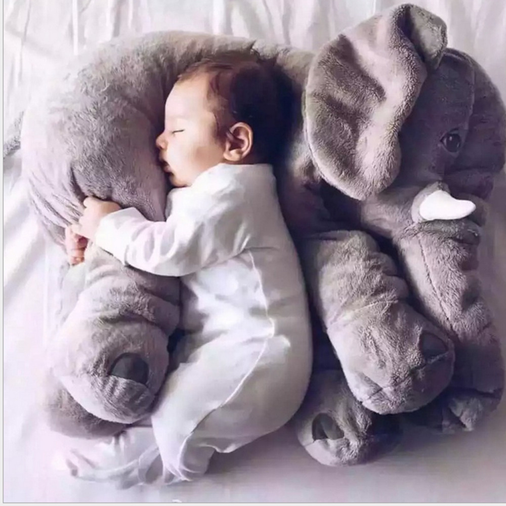 Crib pillows babies - Wholesale Price Baby Elephant Pillow Soft Automotive Baby Sleep Pillow Baby Crib Foldable Kids Doll Seat Cushion Children Toy