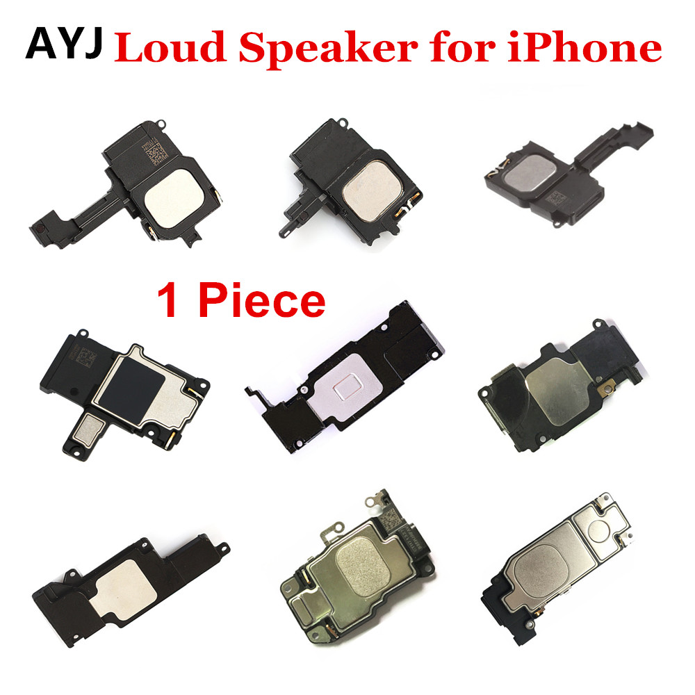 1pcs AYJ Inter LoudSpeaker Replacement For IPhone 5 5S 5C 6 6S 7 Plus Mobile Phone Ringer Buzzer 6plus Loud Speaker Replacement
