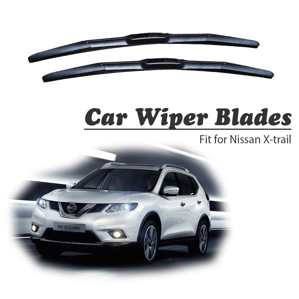 Se adapta a Nissan X-Trail T32 Bosch Aerotwin Retro-Fit Frontal Limpiaparabrisas Cuchillas