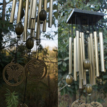 Outdoor Living Wind Chimes Yard Antique Amazing Garden 12Tubes Bells Copper Home Windchime Chapel Bells Wall Hanging Home Decor