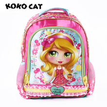 KOKOCAT Fashion School Backpacks for Girls Primary Kids Bags High Quality Large Size Capacity Children