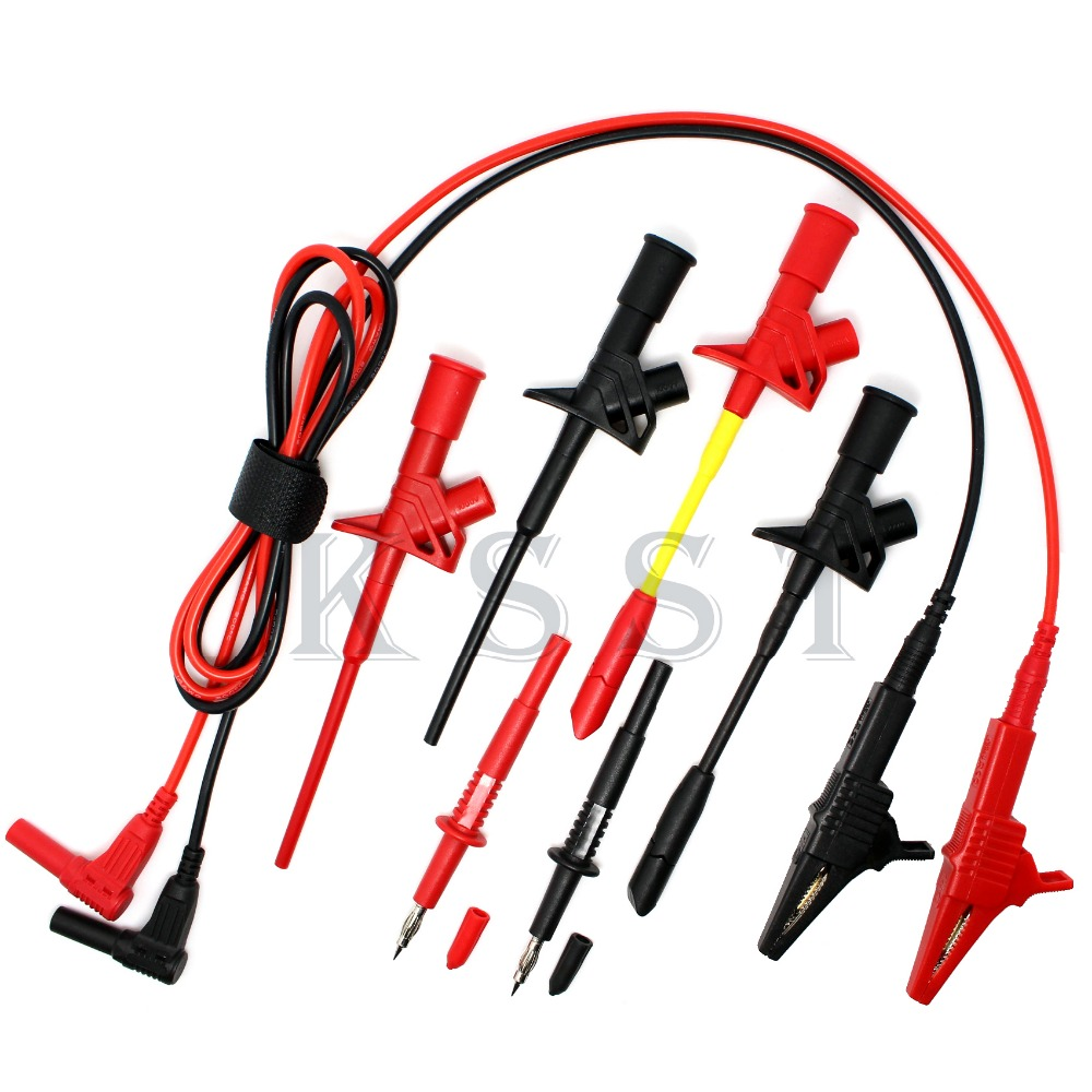 DMM310 Multimeter industry test tool kids sets.Piercing Clip test line alligator clip Tip probe test probe sets high quality mk yqsh 120d hydraulic crimping pliers wire cutters pliers heavy duty pliers clamp china