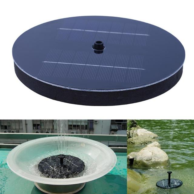 Good Outdoor Solarbetriebene Vogel Bad Wasser Brunnen Pumpe Pool Garten Aquarium  Bewässerung Power Brunnen Pool