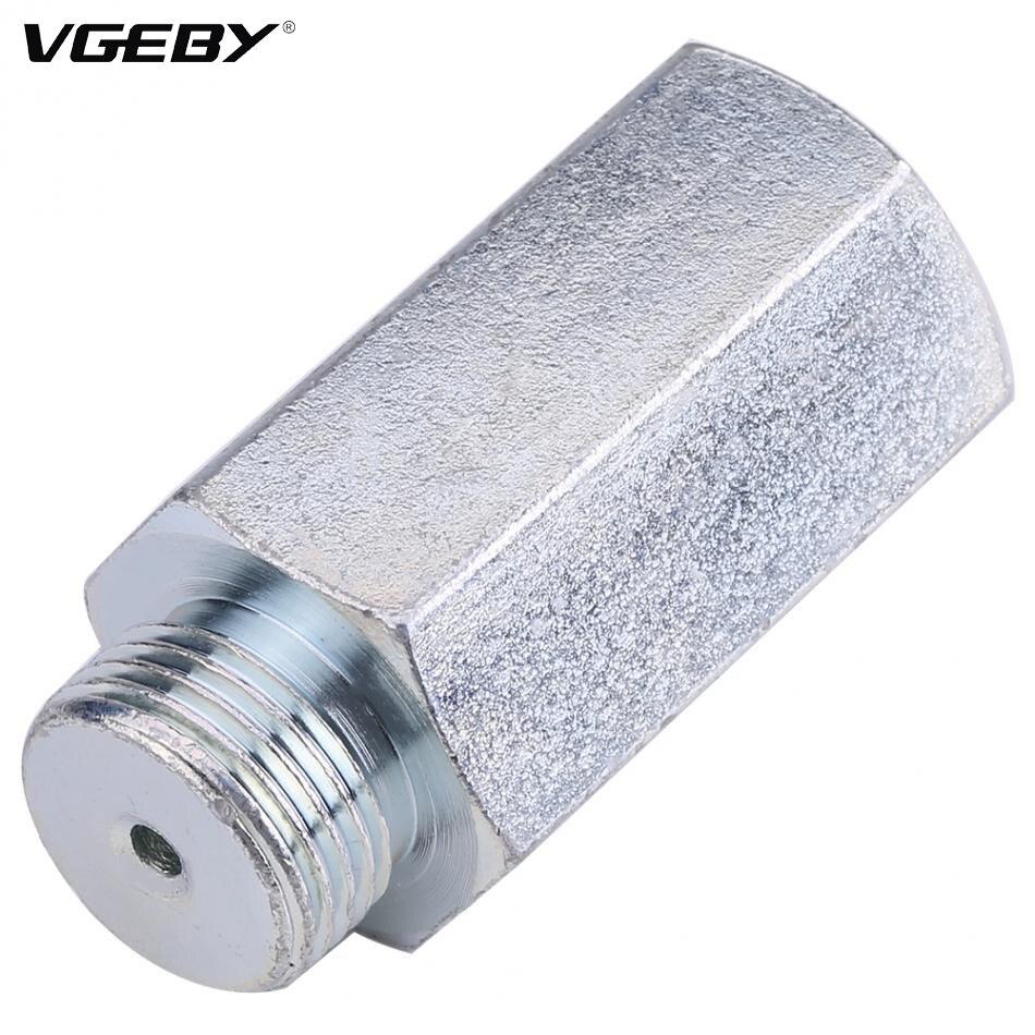 Acier inoxydable Lambda O2 Capteur D'oxygène Extender Spacer pour Decat D'hydrogène M18x1.5 Lambda O2 Extender Spacer Accessoires De Voiture
