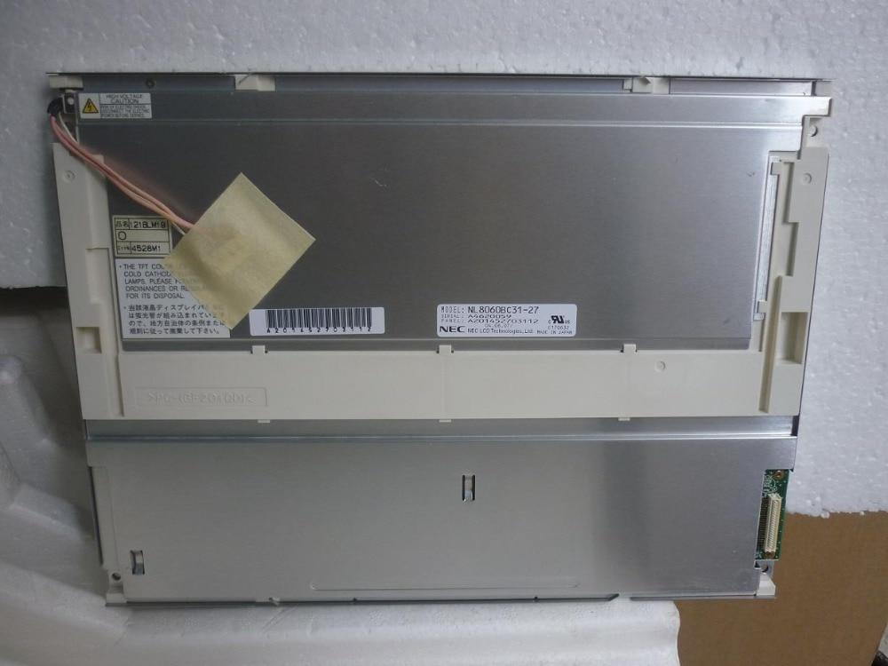 NL8060BC31-27 Original A+ Grade 12.1 Inch Industrial LCD Screen Panel Display