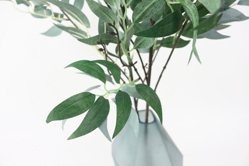 JAROWN Simulation Vine Plant Willow Leaf Single Branch Willow Strips Wedding Arrangement Arches Decor Fake Flowers Home Decor (8)