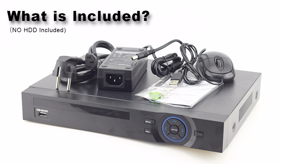 XQ2-32CH CCTV NVR Packing List