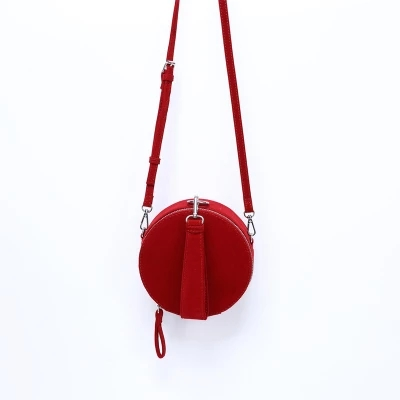 Brand New Round Bag Barrel-Shaped Solid Acrylic Box Clutch Fashion Suede corduroy Shoulder Messenger  Casual Tote Evening Bag Сумка