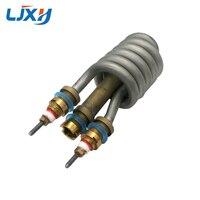 LJXH elektryczny kran rura grzewcza 220V 3000W natychmiastowo gorący bojler części Element podgrzewający wodę Element rurowy w Części do elektrycznych podgrzewaczy wody od AGD na