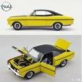 1:18 Modelo de Coche Opel Commodore GSE Minicar Vehical Las Puertas Se Pueden Abrir Nuevos Revell Modelos de Coches Diecast Niños de Juguete de Regalo Colecciones