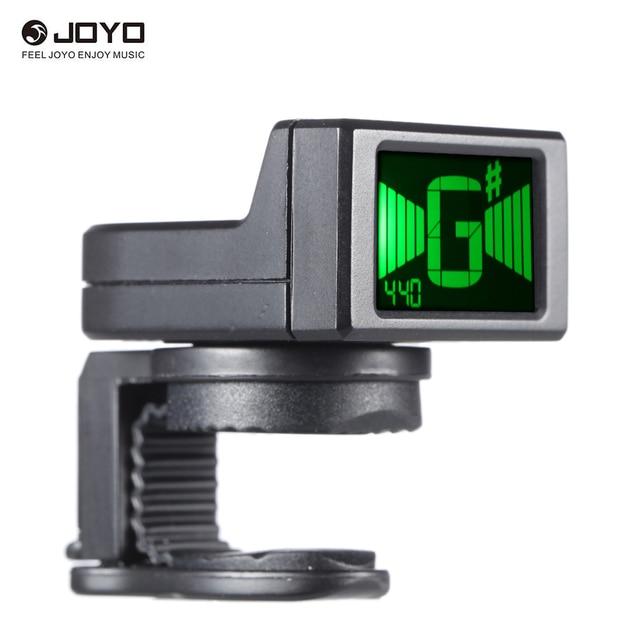 JOYO JT-306 Mini acessórios Guitar Tuner Digital LCD Clip-on Tuner para Acústico Elétrico Bass Guitar Violino Ukulele Chromatic