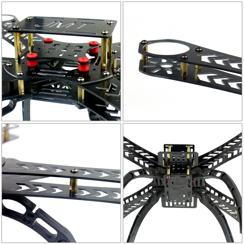 310 Mini RC Drone Unassemble DIY 2.4G 8CH Hexacopter FPV Upgradable With Radiolink Mini PIX M8N GPS Altitude Hold Module f17881 newest radiolink m8n gps diy fpv rc drone multicopter flight controller gps module with gps stand holder bracket