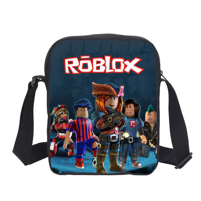 Fashion Anime Small Handbags Cartoon Roblox 3D Printing Boys Sling Crossbody  Bags Girls Satchel Children Messenger Shoulder Bags 8c996b6a53407
