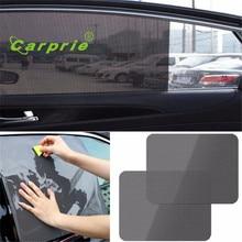 Auto car-styling car styling 2Pcs Car Rear Window Side Sun Shade Cover Block Static Cling Visor Shield Screen feb21
