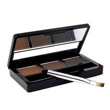 Professional Makeup Eye Brow Waterproof Glitter and Shimmer Eyebrow Powder Palette Eye Shadow Make Up xgrj