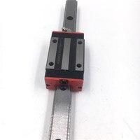 20 мм линейной направляющей L = 2500 мм линейные направляющие HGR20 + 2 шт. HGH20CAZAC Длинные линейные перевозки Замена для HIWIN ЧПУ