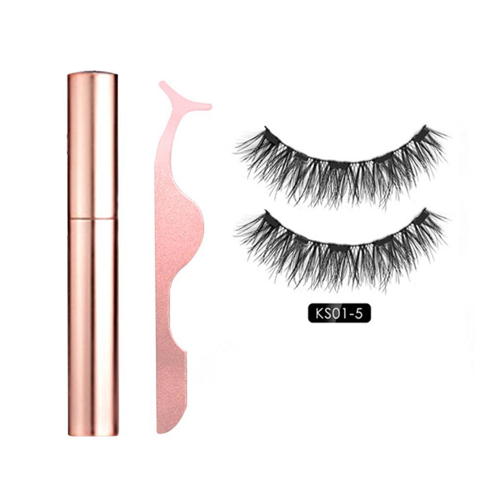 eyeliner magnetico eyeashes kit impermeavel longa duracao eyeliner cilios posticos 40p 04