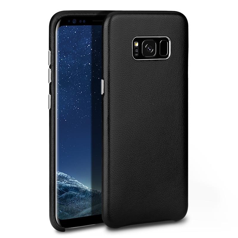 Untuk Samsung Galaxy S8 Ditambah Kasus Penutup Mewah Kulit Asli Keras - Aksesori dan suku cadang ponsel - Foto 6