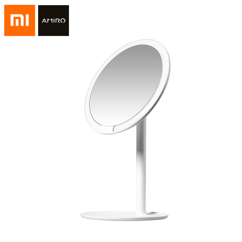 Xiaomi Mijia AMIRO HD Mirror Dimmable Adjustable Countertops 60 Degree Rotating 2000mAh Daylight Cosmetic Makeup Mirror LightXiaomi Mijia AMIRO HD Mirror Dimmable Adjustable Countertops 60 Degree Rotating 2000mAh Daylight Cosmetic Makeup Mirror Light