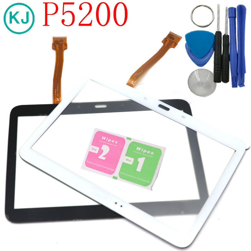 a3c7a736a63 New P5200 Touch Screen Panel For Samsung Galaxy Tab 3 10.1 P5210 Tablet  Outer Touch Digitizer
