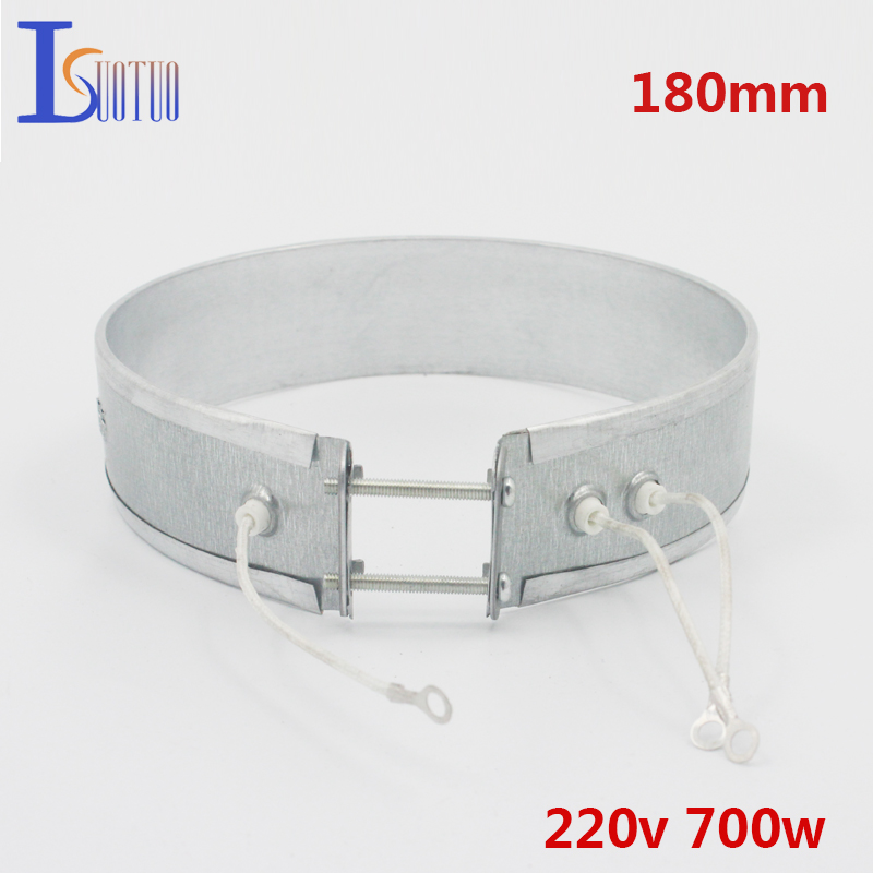 180mm 220V 700W thin band heater for wax melting machine household electrical appliances parts heating element wax wax treatment machine 500ml in addition to wax melting wax machine 220v 1pc