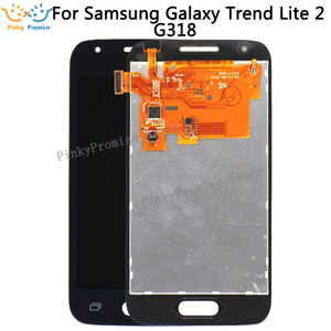 Image 1 - 800x480 For Samsung Galaxy Trend Lite 2 G318 G318H LCD Display with touch screen Digitizer Replacement parts for SM g318 lcd