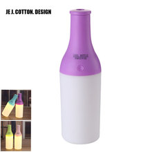 180ML Ultrasonic Humidifiers Mist Maker with LED Light USB Aroma Diffuser Car Air Humidifier Freshener Atomizer for Home 2W DC5V
