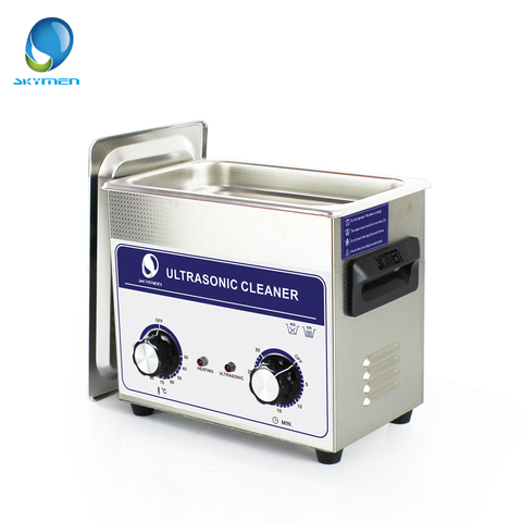 SKYMEN Ultrasonic Cleaner 3l Industry  cleaner 3.2L 120W 110/220V Cleaning Solution for circuit borad metal parts tableware Multan